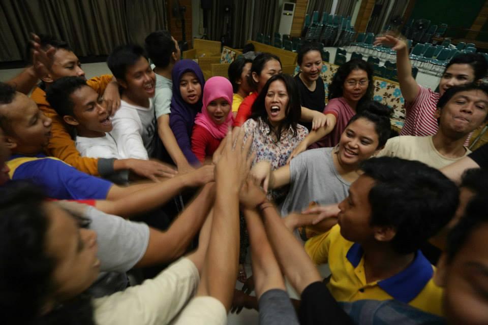 Bersama Pelajar Palangkaraya dalam Gladi Pertunjukan Subversif!
