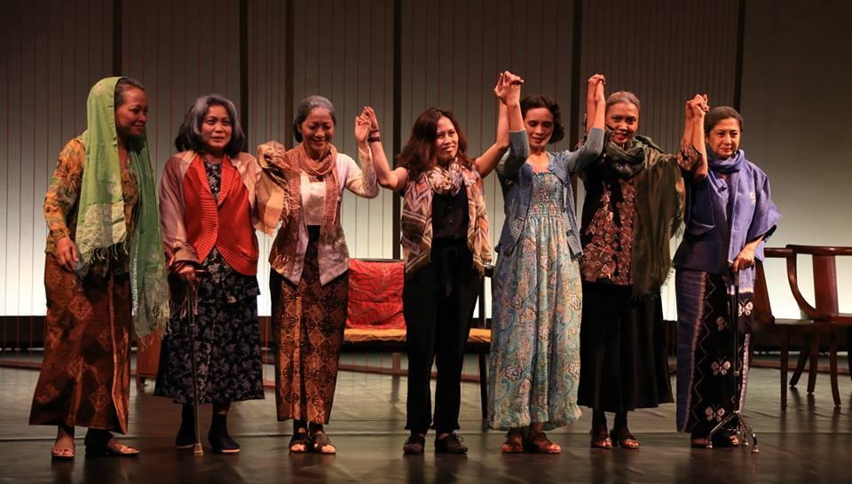Pertunjukan Nyanyi Sunyi Kembang Genjer, Maret 2014