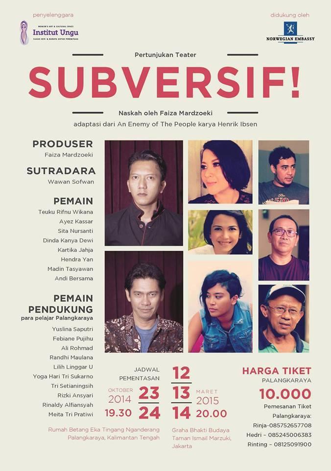 Poster Subversif!