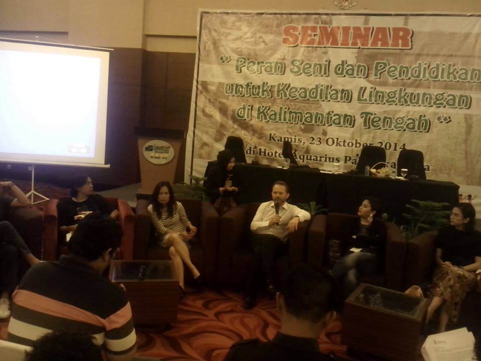 Press Conference Subversif! di palangkaraya, Oktober 2014