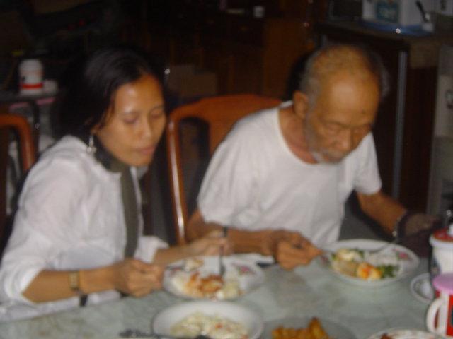 kenangan bersama Pramoedya Ananta Toer, tahun 2006