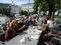 Diskusi dan makan siang dengan Juni Dhar, Marinne dan Mr. Carsten Carlsen dari kementrian luar negeri Norway.